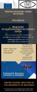 PONT online course Infografic